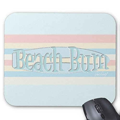 gaming-mouse-pad-beach-bum-on-blue-rectangle-office-mousepad-9-x-7
