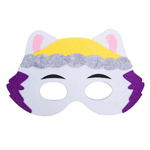 Lemonkid® Kinder Halloween PAW Patrol Maske für Masquare Cosplay Party Gr. One Size, Everest