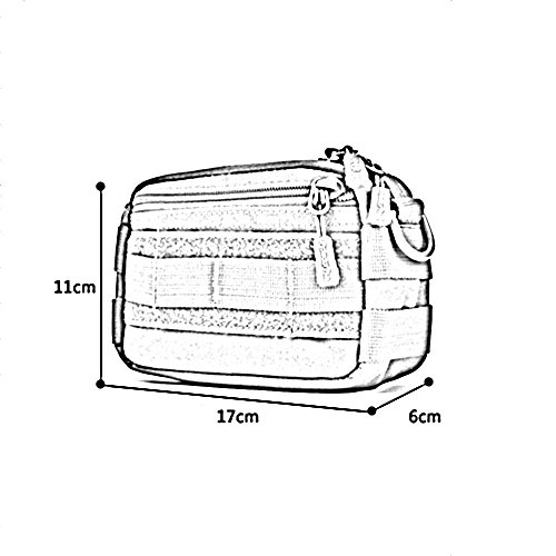 ZHANGRONG- Sacchetto del messaggero Borsa a sospensione Sacchetto di spalla esterno di svago Portare il sacchetto Mini sacchetto maschile Pacchetto di outsourcing (Opzionale a colori) ( Colore : 2 ) 5