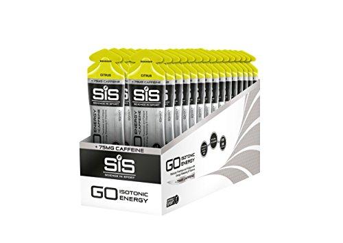 Science Sport Sis Go Gel Isotonico Energetico con Caffeina Gusto Agrumi Confezione da 30 x 60 ml