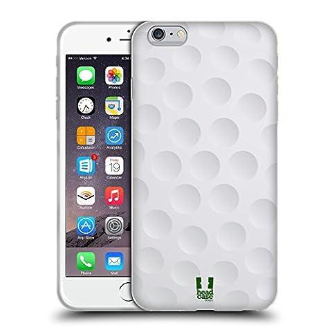 Head Case Designs Golf Collections Boules Étui Coque en Gel molle pour Apple iPhone 6 Plus / 6s Plus