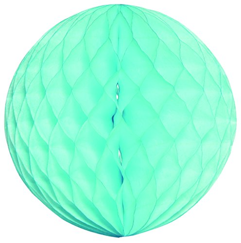 Wabenball, Dekoration 20cm-Sky Blau # 4702-018 (Kugeln Blau-waben-gewebe)