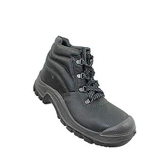 Auda Cyprus Cap SA S3 SRC UK Work Shoes Bauschuhe high Black B-Stock, Size:38 EU