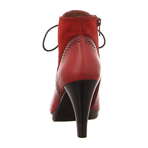 Hispanitas Bhi63525, Stivali donna Rosso