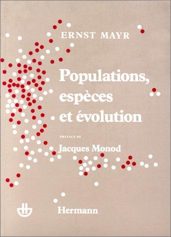 Populations, espèces et évolution