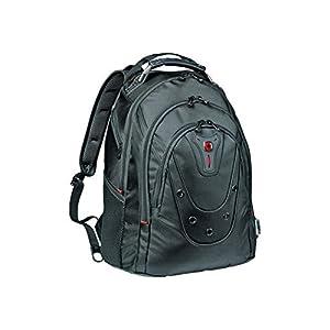 "41QEYbjoOqL. SS300  - WENGER/SwissGear Ibex Slimline maletines para portátil 40,6 cm (16"") Mochila Negro - Funda (Mochila, 40,6 cm (16""), Tirante para hombro, 1,4 kg, Negro)"