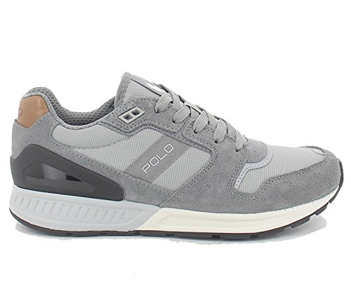 Polo Ralph Lauren TRAIN100-SK-ATH Sneakers Homme Grey 42