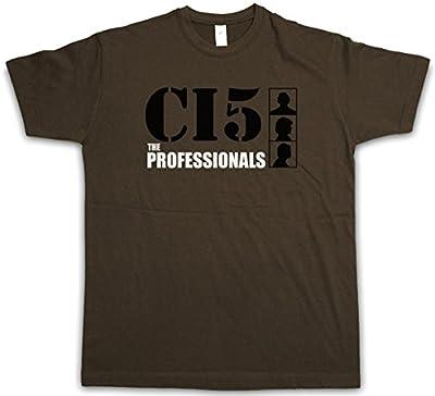 The Professionals DIE Profis T-Shirt - CI5 Jackson Tv Intelligence Greatbritain Series Gordon Größen S - 2XL
