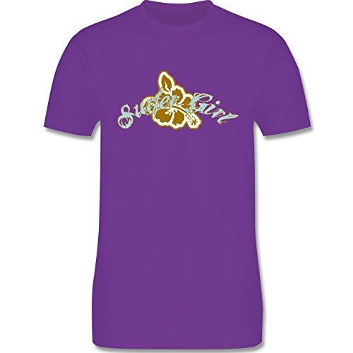 Wassersport - Surfer Girl - Herren Premium T-Shirt Lila