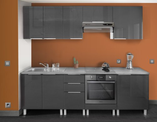 berlenus cf6bg kitchen base unit 60 cm door high gloss