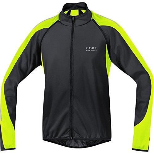 GORE BIKE WEAR, Uomo, Giacca 3 in 1, Ciclismo su strada, GORE WINDSTOPPER Soft Shell, PHANTOM 2.0 Jacket , Taglia S Black/Neon Yellow
