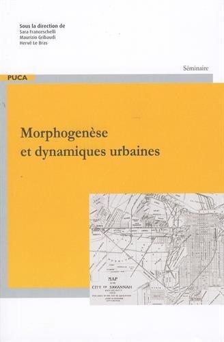 Morphogenèse et dynamiques urbaines : Les ateliers de morphologie EHESS-EnsAD