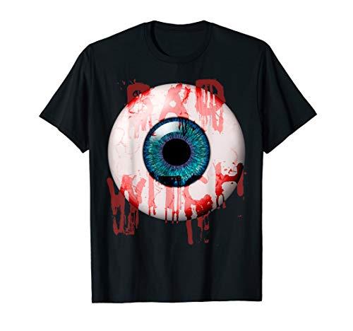 Tochter Mutter Halloween Kostüm - Böse Hexe - gruseliges blutiges einäugiges Halloween-Kostüm T-Shirt