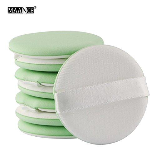 Saihui 8 pinceaux de maquillage Fond de teint éponge blender Puff Poudre lisse Beauté Puff