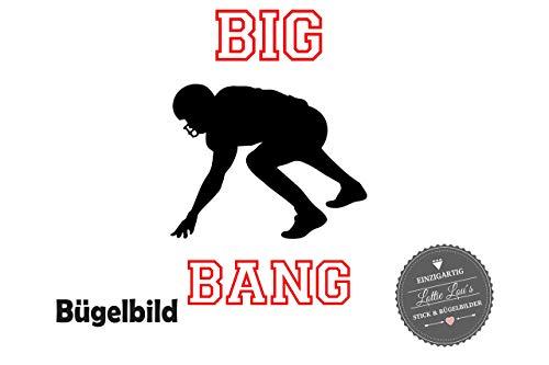 Lou Line (Bügelbild Aufbügler Defense Line Name Football NFL Sport Name Flex Glitzer Flock in Flex, Glitzer, Flock, Effekt in Wunschgröße)