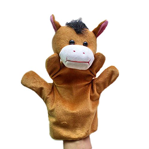 Kuhu Creations® Supreme Imagination Stories Puppet. (MHP Horse Brown)