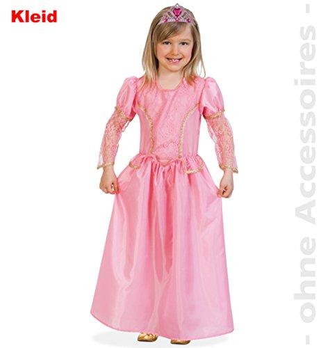 Fries Kostüm Kleid 1-teilig Prinzessin Cora rosa / -