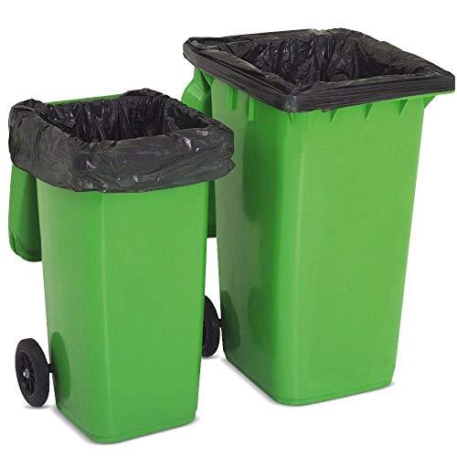 Abbey Wheelie Bin Liner / Säcke / Abfallsäcke für Müll auf einer Rollenpackung mit 50 Stück