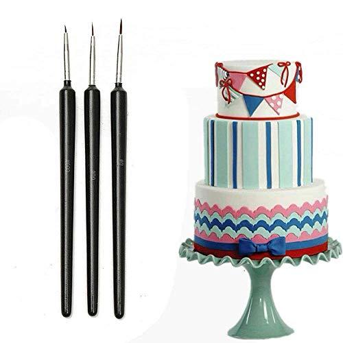 Schimmel Kuchen Dekorieren Pinsel Set Lebensmittel Paint Icing Cupcake Sugarcraft Fondant Pinsel Set ()