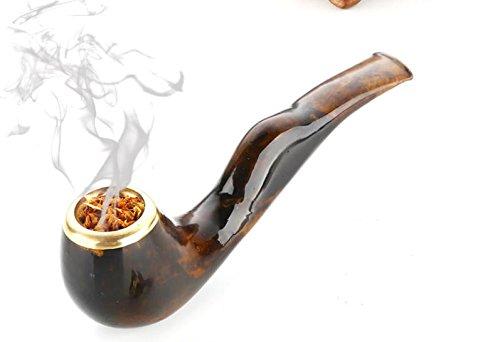 Hai Liu doppio tubo tabacco fumo sigaretta titolare doppio filtro può essere pulito