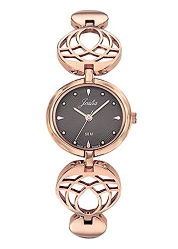 Joalia - Montre Femme - H630M595 - Bracelet doré Rose - Cadran Gris