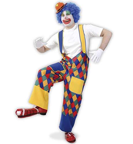 (KarnevalsTeufel Clownhose Chico Erwachsenen Kostüm Clownkostüm (Large))