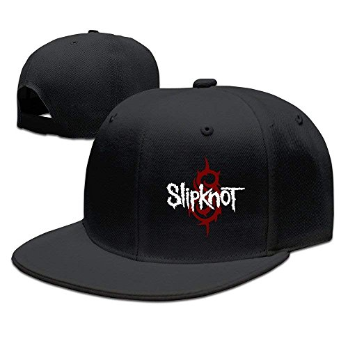 UUOnly Slipknot Rock-and-Roll-Rockmusik Snapback Hats Black