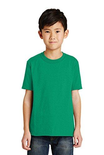 Port & Company Jungen 50/50Baumwolle/Poly T Shirt Gr. Medium, Kelly - Pc55y Port