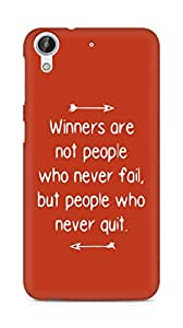 AMEZ but people who never quit Back Cover For HTC Desire 626 G