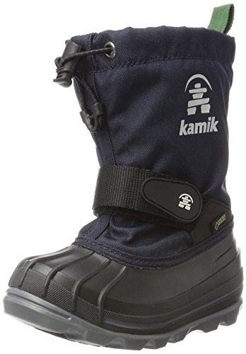 Kamik Unisex-Kinder Schneestiefel WATERBUG8G, Blau (Navy/Marine), 36 EU  (4 US)