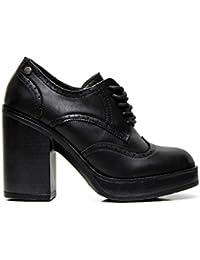 Kharisma Socket 1365 Soft Noir US8/EU39/UK6/CN39 DIMAOL Chaussures Pour Femmes Printemps Automne PU Confort de Base Pour Pompes Talon Aiguille Talons Bout Pointu Beading Pour Office & Carrière Robe Rouge Beige Noir Noir US7.5/EU38/UK5.5/CN38 n07MQREAs