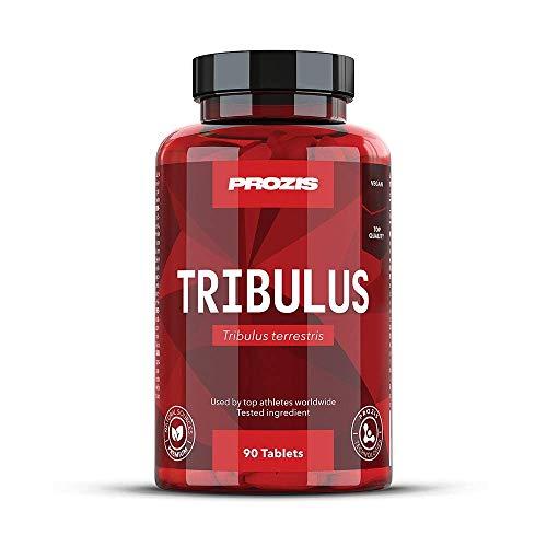 Prozis Tribulus Terrestris, Booster de Testostérone(1000 mg)-Source d'énergie naturelle - Augmente la libido et l'endurance - Améliore la croissance musculaire et la performance sexuelle-90 comprimés!