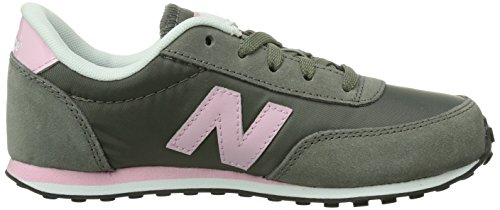 New Balance Kl410 M, Baskets mode mixte enfant Gris (Dpy Grey/Pink)