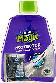 Mister Magic, Protector Curalavastoviglie, Trattamento Disincrostante, Pulisce e Protegge le Guarnizioni, Prev