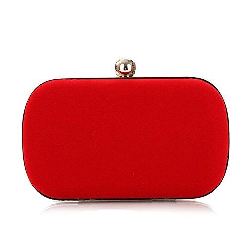 Eysee, Poschette giorno donna rosso Rose 16cm*9cm*5.5cm Red
