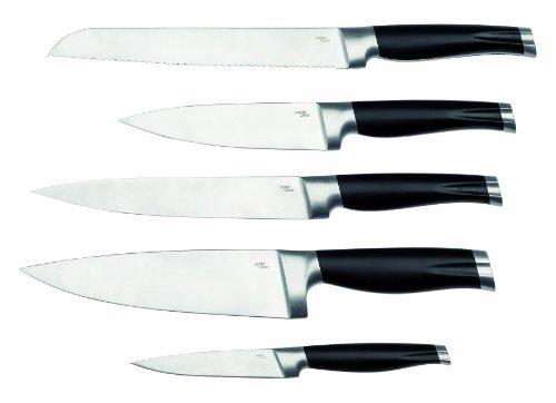 Jamie Oliver JB7800 Messerblock mit 5 Messern, Holz -