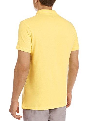 oodji Ultra Herren Pique-Poloshirt Gelb (5200N)