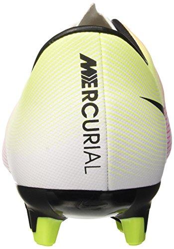 Nike V Fg Mercurial Blanco Voltio De naranja Negro Victory Total Fútbol Entrenamiento Hombre Blanco BrqBA