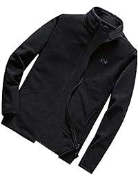ITISME Herren Pullover Männer Winter warme Feste Jacke Mantel Outwear schlank Zipper Coat Tops Bluse