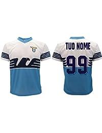 bc747fac6c Maglia Lazio Ufficiale Personalizzata 2018/2019 SS Lazio Adulto Bambino  Nome e Numero a Scelta