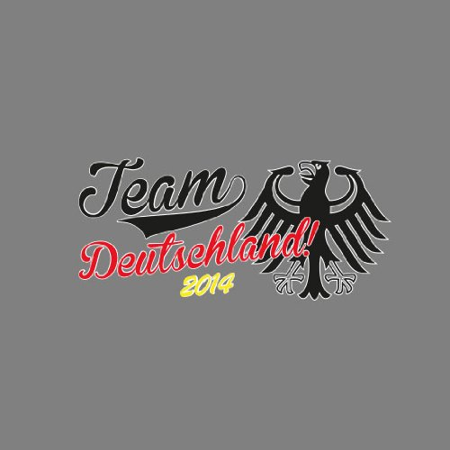 Team Deutschland 2014 - Herren T-Shirt Braun
