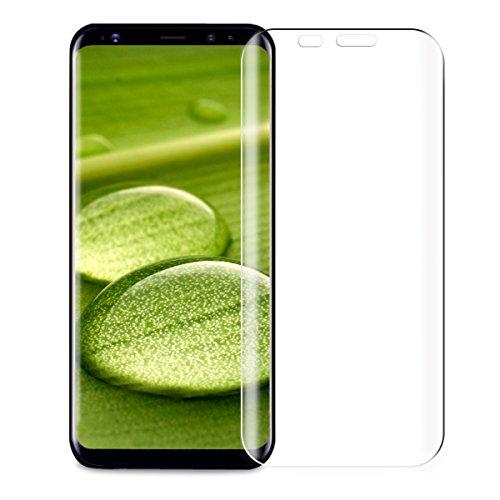 Preisvergleich Produktbild Samsung Galaxy S8 Plus Displayschutz,  innislink 3D Full Coverage Schutzglas Galaxy S8 Plus Hartglas Panzerglas Anti-Kratz Gehärtetem Glas Für Samsung Galaxy S8 Plus Schutzfolie-1 Pack