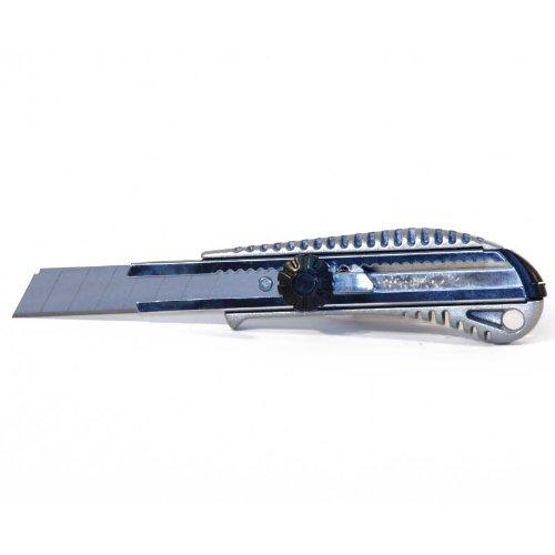 FTM Metallcutter, Messer, Cutter aus Metall 18mm Klinge, mit Feststellschraube - Metall-cutter