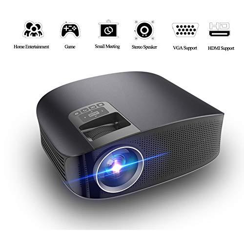 KGAYUC Projektor, 3D HD Kino Heimkino LED