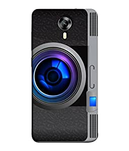 Micromax Canvas Xpress 2 E313 Back Cover Vintage Camera Icon Design From FUSON