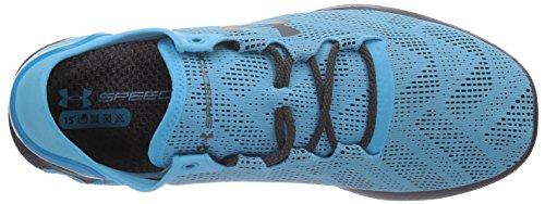 Under Armour UA SPEEDFORM APOLLO VENT, Scarpe da corsa uomo Blu (Blau (Island Blues/Charcoal/Charcoal 458))