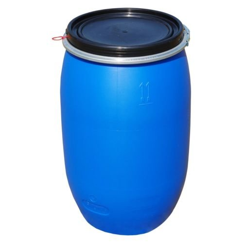 fut-alimentaire-120-litres-ouverture-totale-baril-polyethylene-bleu-22120