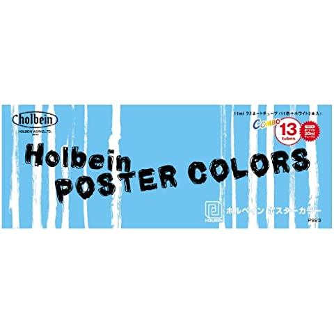 Holbein poster color combo 11 colors plus white set of 2 (japan (Industria Primer)