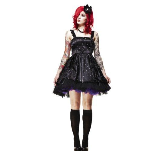 Hell Bunny dell'abito soccombere DRESS black Nero