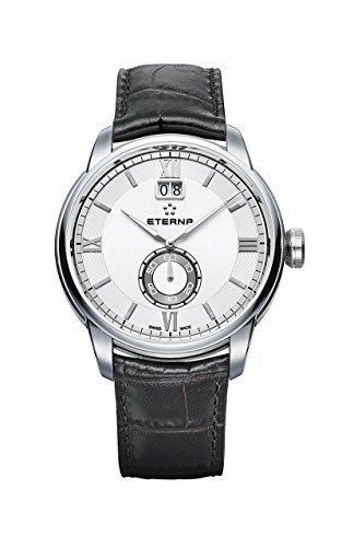 Eterna Herren-Armbanduhr Adventic Großdatum Analog Quarz 2971.41.66.1327